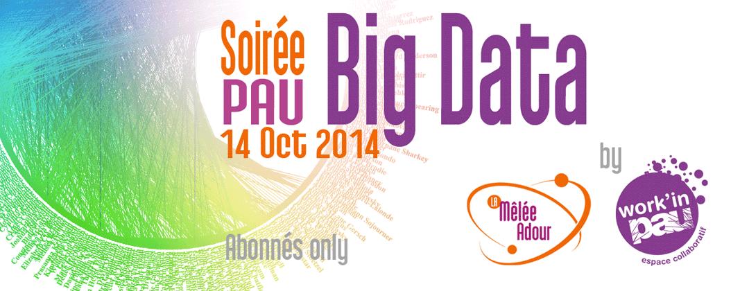 Soirée Big Data à Pau : Mardi 14 octobre à 18h45