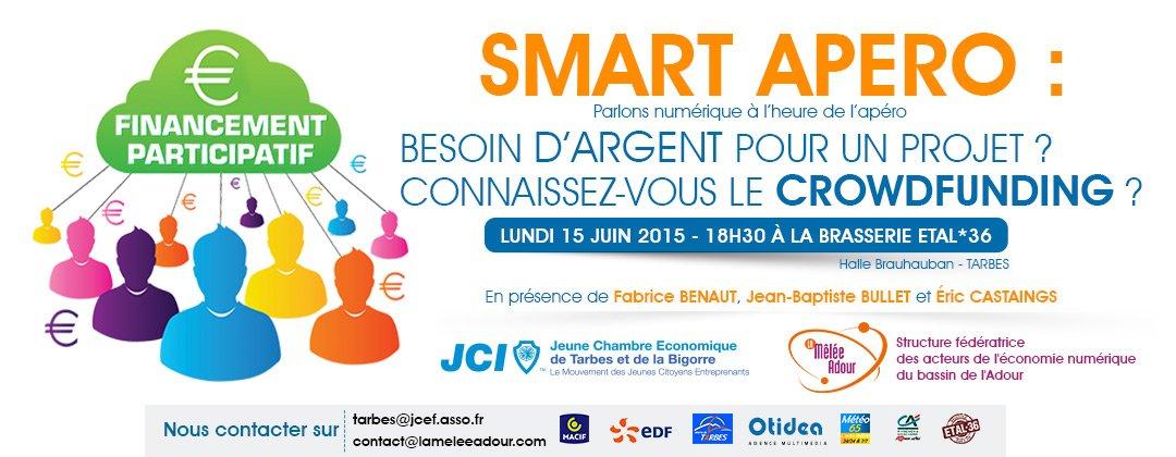 Smart Apéro sur le crowdfunding - 15 juin 2015