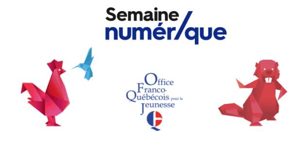 La semaine numérique de Québec – 4 au 9 avril 2016