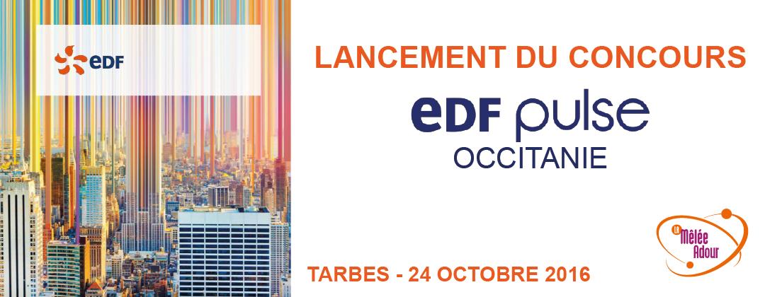 Lancement du concours EDF Pulse Occitanie à Tarbes