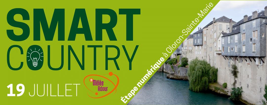 Smart Country – étape numérique à Oloron-Sainte-Marie le 19 juillet 2016