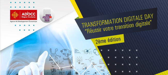Transformation Digitale Day – 17 décembre à Montpellier