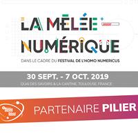 La Mêlée Adour partenaire de La Mêlée Numérique 2019