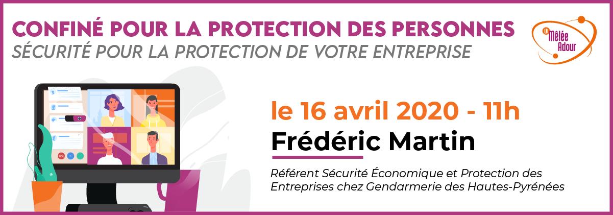 Confiné pour la protection des personnes - Sécurité pour la protection de votre entreprise