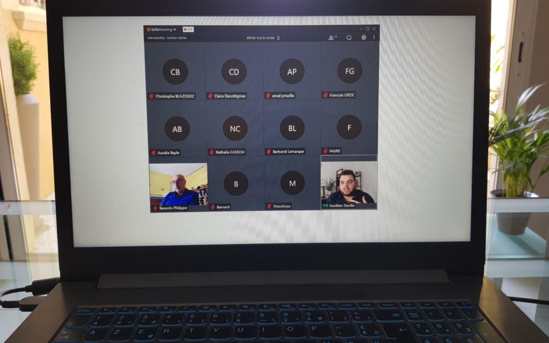 1ère réunion de notre commission blockchain