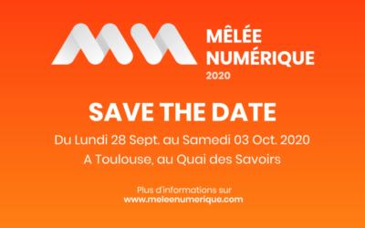 La Mêlée Numérique – 28 septembre au 3 octobre 2020 à Toulouse