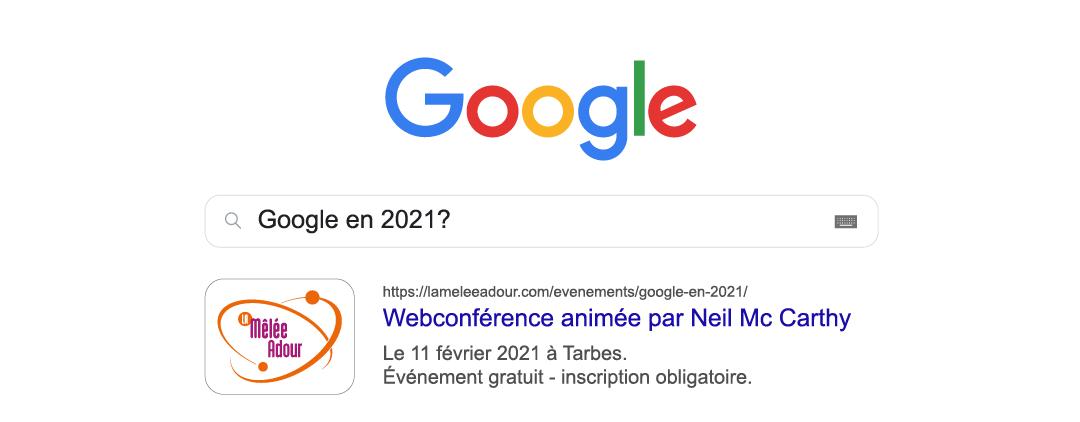 Google en 2021 ?