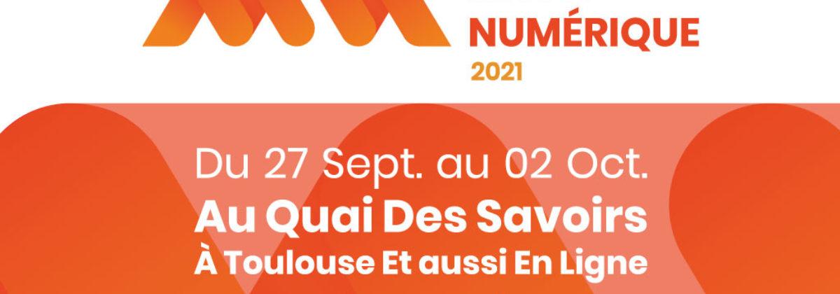 La Mêlée Numérique – 27 septembre au 2 octobre 2021 en ligne et à Toulouse