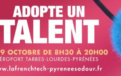 Adopte un talent – 19 octobre 2021 à Tarbes